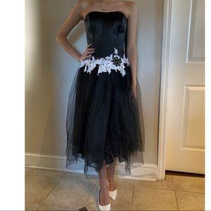 Jovani Cocktail Dress Black